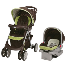 Graco Comfy Cruiser™ Click Connect™ Travel System, Go Green