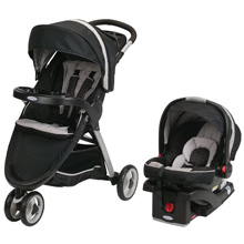 Graco FastAction™ Fold Sport Click Connect™ Travel System, Pierce