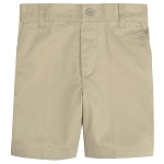 French Toast Toddler Boys Flat Front Adjustable Waist Short, Khaki