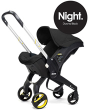 Doona™ Infant Car Seat with Base, Black/Night