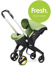 Doona™ Infant Car Seat with Base, Green/Fresh