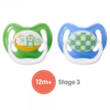 Dr.Brown's® PreVent Unique Pacifier Stage 3, 12+ Months BPA-Free