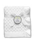 Baby Starters Plush Blanket-White