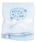 "Baby Starters ""Thank Heaven For Little Boys"" Blanket"