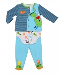 Taggies® Dino Take Me Home 3 Piece Set 3-Months