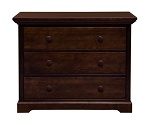 Million Dollar Baby Marlowe/Harmony 3dr Dresser in Espresso
