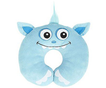 H.I.S..Juveniles Nuby Friendly Monster Neck Support Pillow Baby Blue