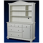 Sorelle Vista Hutch in French White