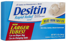 Desitin Diaper Rash Cream, 2 Pack 6 oz each