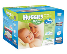 Huggies Natural Care® Baby Wipes, 1,160 Count