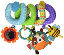 Infantino Spiral Activity Toy™ - Farm Fun