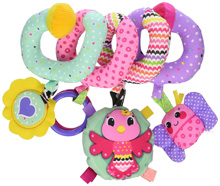 Infantino Spiral Activity Toy™ - Sweet Birdie