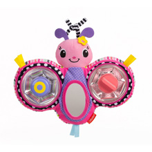 Infant Squeak & Peek Butterfly Mirror Pal™