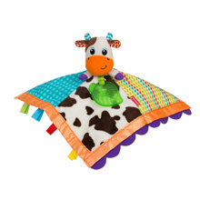 Infantino Soft & Snuggly Lovie Pal™ - Cow