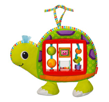 Infantino Slide & Spin Activity Center™ - Green Topsy Turtle