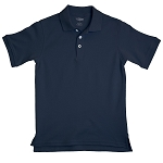 French Toast Interlock Polo, Navy