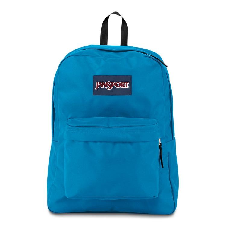 Jansport Superbreak Backpack Blue Crest