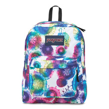 Jansport Superbreak Backpack, Multi Tie Dye Swirls