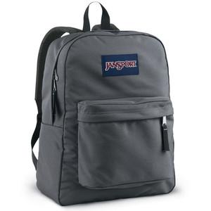 Jansport Superbreak Backpack Forge Grey Ideal Baby
