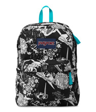Jansport Superbreak Backpack, Black Superhero