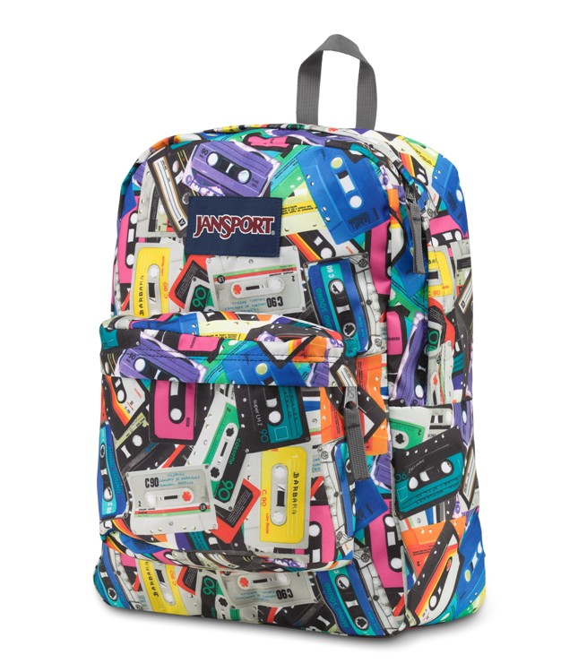 Jansport Superbreak Backpack, Multi Mixtapes