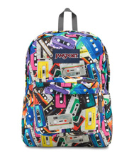 Jansport Superbreak Backpack, Multi Mixtapes