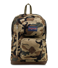 Jansport Austin Backpack, Desert Beige Conflict Camo