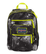 Jansport Big Student Overexposed Backpack, Black Galaxy