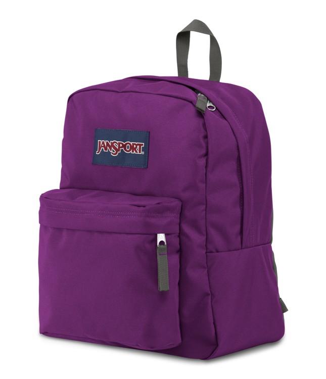 Jansport Spring Break Backpack Vivid Purple Ideal Baby