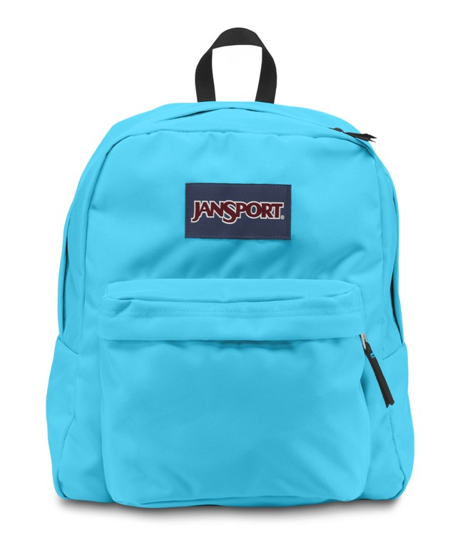 Jansport Spring Break Backpack Mammoth Blue Ideal Baby