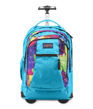 Jansport Driver 8 Backpack, Multi Neon Galaxy
