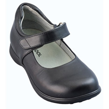 Jumping Jacks Tutor Mary Jane Shoe, Black