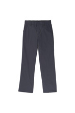 French Toast Boys Adjustable Waist Double Knee Pant, Gray