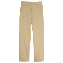 French Toast Toddler Boy's Pull On Pants, Khaki
