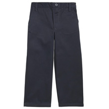 French Toast Toddler Boy's Pull On Pants, Navy