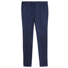French Toast Girl's Skinny Stretch Twill Pants, Navy
