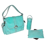 Kalecom Laminated Diaper Bag Baby Blue