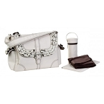 Kalecom Miss Prissy-Champagne Chocolate Buckle Bag