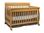 Million Dollar Baby Kalani 4 in 1 Crib in Honey Oak
