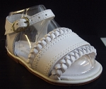 Karela Kids Baby Girl Sandals - White 0/3 Months