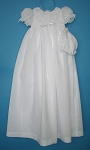 Karela Kids Christening Girl Gown Organza with Bonnet