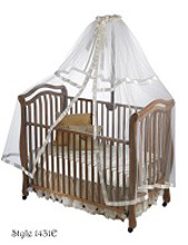 Heirloom Crib & Bed Net Dome
