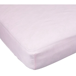 Kids Line Easy-Fit Sateen Crib Sheet Pink