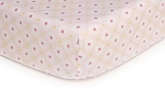 Kids Line Easy Fit Crib Sheet Pink Daisy