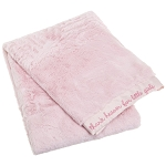 Carters Satin Blanket Heaven Girl Pink