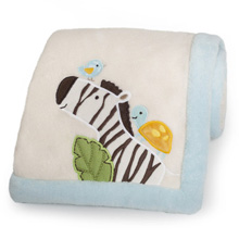 Kids Line Jungle Play Blanket