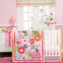 Carters Tropical Garden 5 Piece Crib Bedding Set