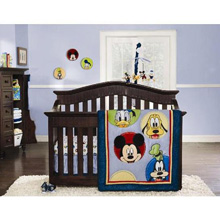Kids Line Mickey & Friends 9 Piece Crib Bedding Set
