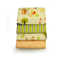 Disney Pooh 4-Pack Receiving Blanket