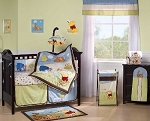 Kids Line 4 Piece Baby Crib Bedding Set Friendship Pooh